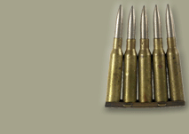 Japanese Arisaka 6.5x50mm bullets