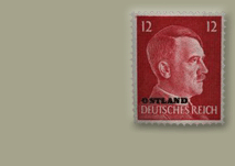 Stamp with Adolf Hitler