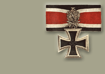 Knight's Cross of the Iron Cross with Golden Oak Leaves, Swords and Diamonds