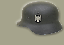 Helmet of a german Infantry soldier