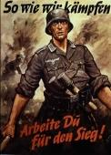 Propaganda poster of the german army.
