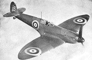 Royal Air Force (RAF) Spitfire IA.