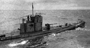 U-Boat ('Unterseeboot' in german or 'underwater boat' in english).