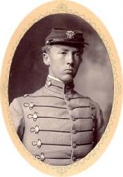 George Smith Patton while cadet in West Point.
