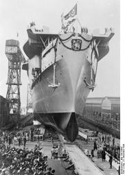 Launching ceremony of the aircraft carrier Graf Zeppelin