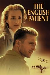 Original movie poster of The English Patient.