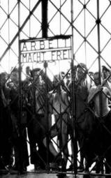 Entrance gate of Dachau.