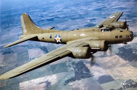 B-17, Flying Fortress.