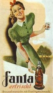 German old Fanta advertisement.