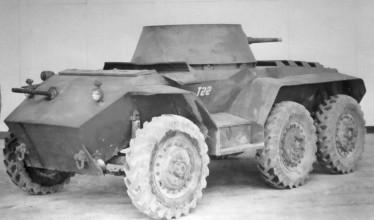 M8 Greyhound T22 prototype multiple gun motor carriage.